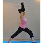 Yoga : Virabhadrasana I