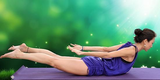 Salabhasana Yoga Pose