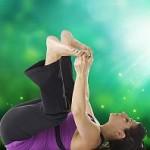 Ananda Balasana : Yoga Pose